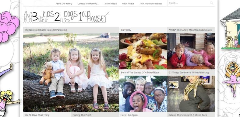 Screen Shot - Blog