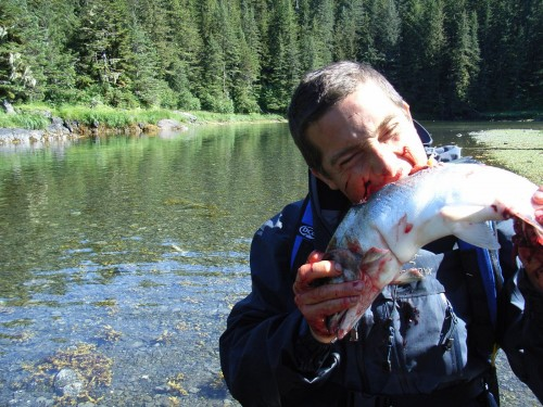 How parenting can turn you into bear grylls 3 kids 2 for Can i eat fish everyday
