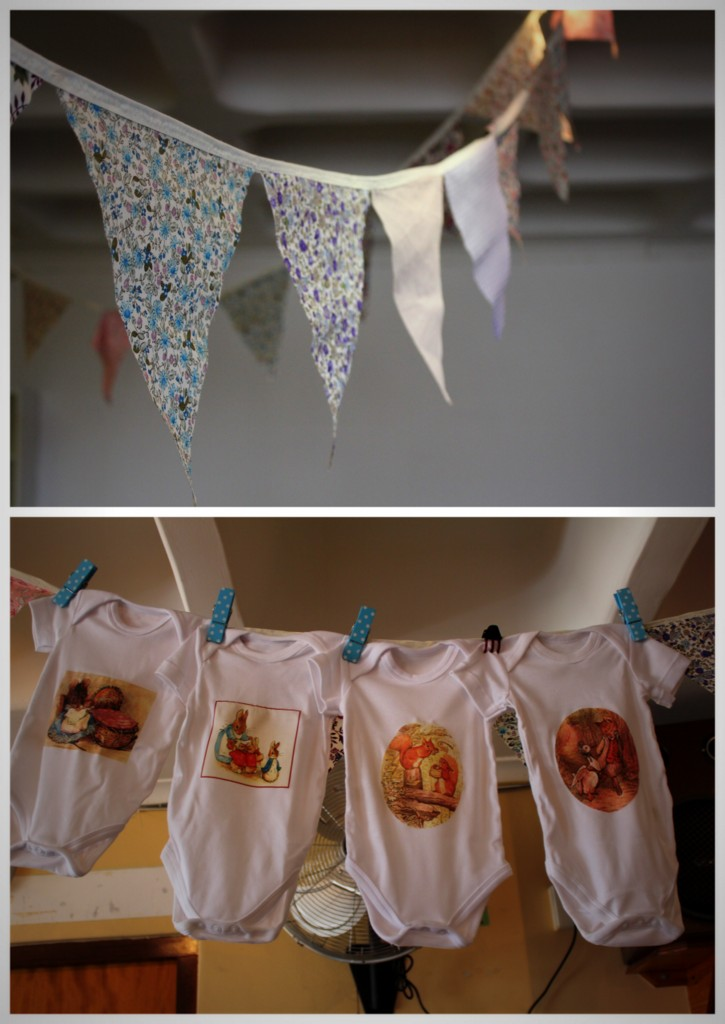 Julia S Beatrix Potter Themed Baby Shower 3 Kids 2 Dogs