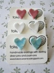 Heart Earrings - Token