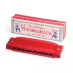 Red Harmonica_medium - Heart and Home