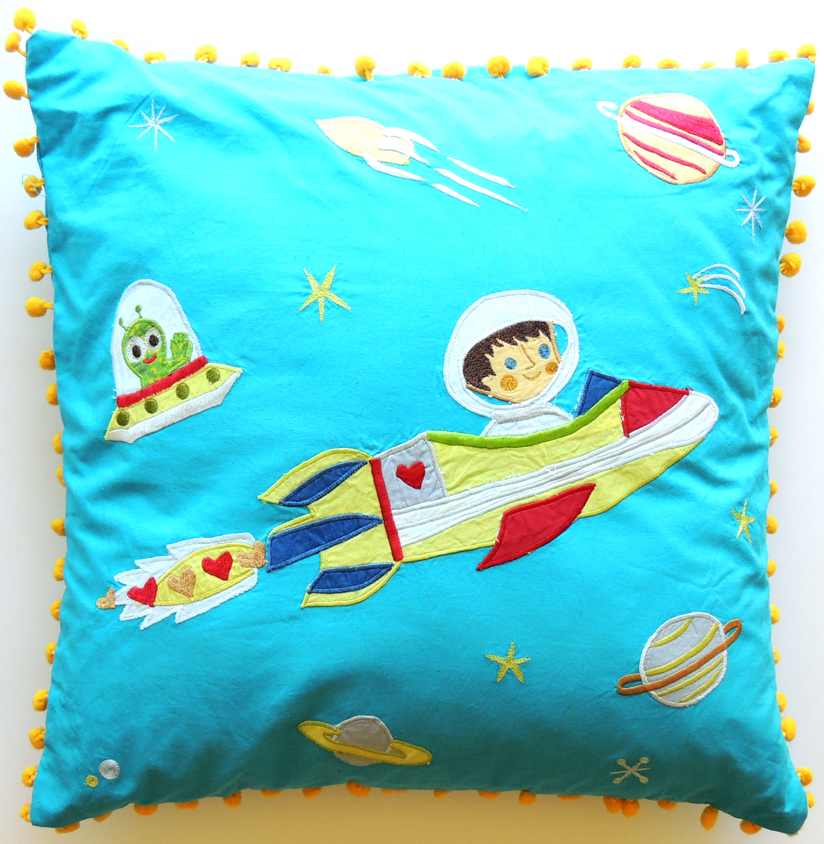 Space Boy Cushion