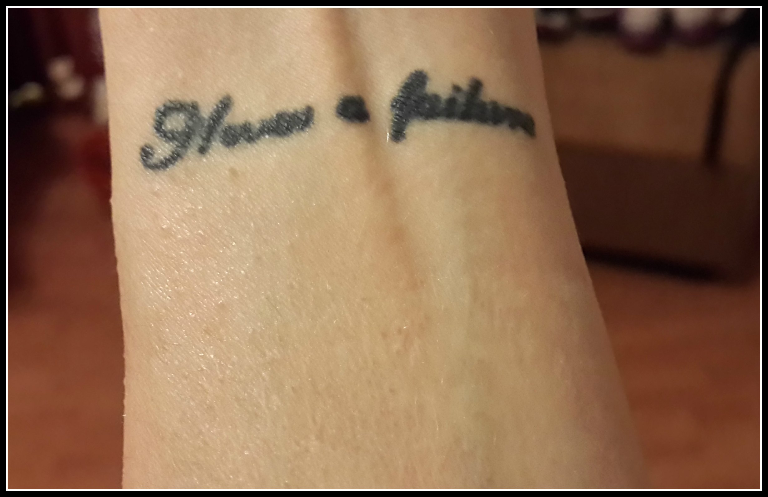 Tattoo-left wrist-Quote